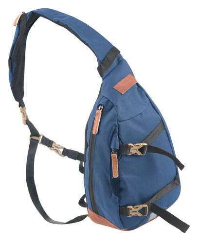 Crossover Shoulder Body Bag Bowatex Schultertasche Blau 30cm