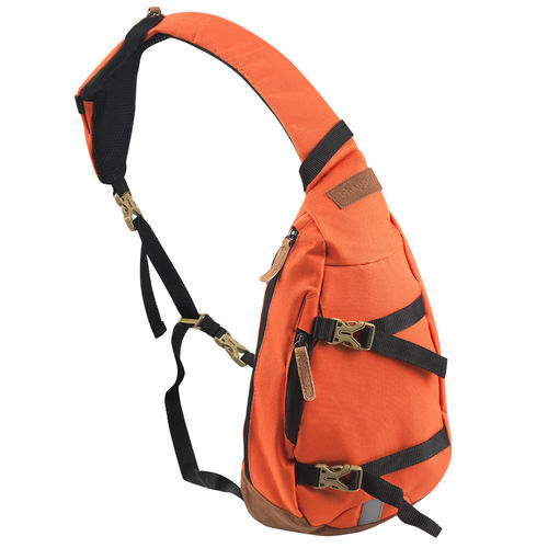 Crossover Shoulder Body Bag Bowatex Schultertasche Orange 30cm