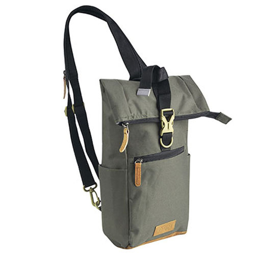 Shoulder Crossover Body Bag Bowatex Schultertasche Khaki Grün 45cm
